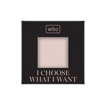 Wibo I Choose What Want HD Fixing Powder bezbarwny puder fiksujący do twarzy (3 g)