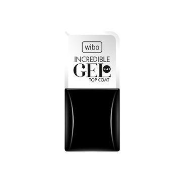 Wibo Incredible Gel Top Coat preparat utwardzający do paznokci 8.5ml
