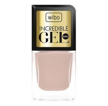 Wibo Incredible Gel żelowy lakier do paznokci 8 8.5ml