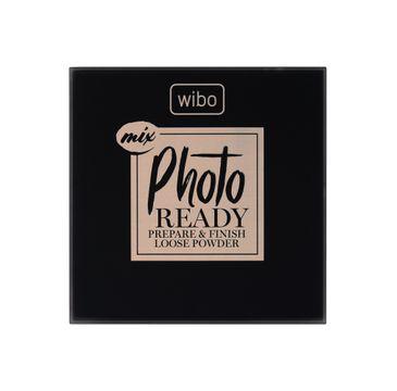 Wibo Photo Ready Mix Loose Powder sypki puder do twarzy 2w1 (14 g)