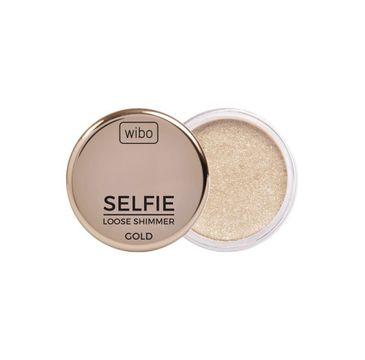 Wibo Selfie Loose Shimmer rozświetlacz do twarzy Gold (2 g)