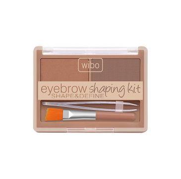 Wibo Shape&Define Eyebrow Shaping Kit zestaw do stylizacji brwi Light