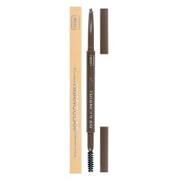 Wibo Slim Triangular Eyebrow Pencil trójkątna kredka do brwi 1 Soft Brown (1 szt.)