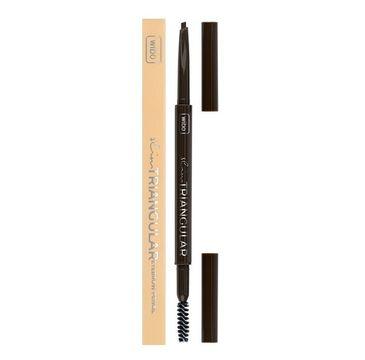Wibo Slim Triangular Eyebrow Pencil trójkątna kredka do brwi 2 Dark Brown (1 szt.)