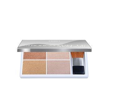 Wibo Strobing Make Up Kit paleta 4 rozświetlaczy do twarzy 9g