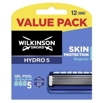 Wilkinson Hydro 5 Skin Protection Regular zapasowe ostrza do maszynki do golenia dla mężczyzn (12 szt)