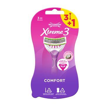 Wilkinson Xtreme3 Comfort jednorazowe maszynki do golenia dla kobiet (4 szt.)