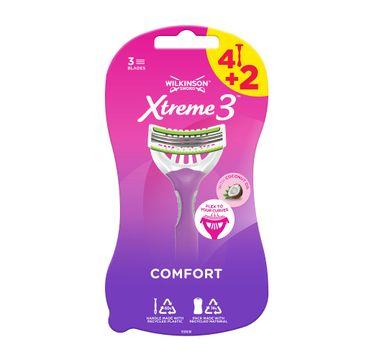 Wilkinson Xtreme3 Comfort jednorazowe maszynki do golenia dla kobiet (6 szt.)