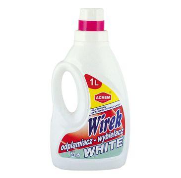 Wirek odplamiacz - wybielacz do białych tkanin o pojemności (1000 ml)