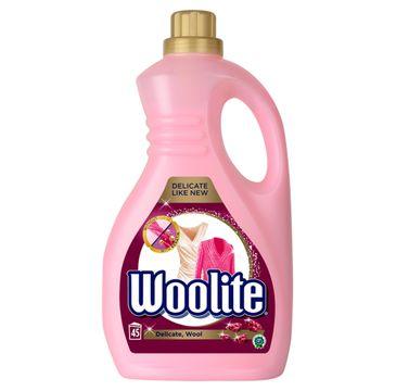 Woolite Delicate Wool płyn do prania ochrona delikatnych tkanin z keratyną 2700ml