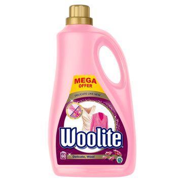 Woolite Delicate Wool płyn do prania ochrona delikatnych tkanin z keratyną 3600ml