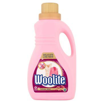 Woolite Delicate Wool płyn do prania ochrona delikatnych tkanin z keratyną 900ml
