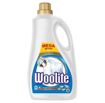Woolite Extra White Brilliance płyn do prania bieli i jasnych tkanin z keratyną 3600ml