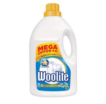 Woolite Extra White Brilliance płyn do prania do bieli z keratyną 4500ml