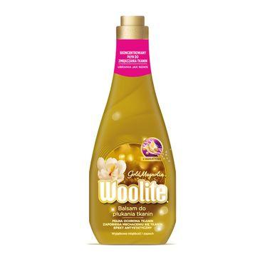 Woolite Gold Magnolia płyn do płukania tkanin z keratyną 1200ml