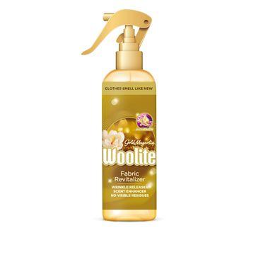 Woolite Gold Magnolia spray do pielęgnacji tkanin z keratyną 300ml