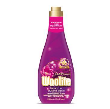 Woolite Pink Romance płyn do płukania tkanin z keratyną 1200ml