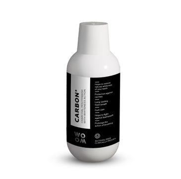 Woom Carbon+ Charcoal Mouthwash wybielający płyn z węglem do płukania jamy ustnej (500 ml)