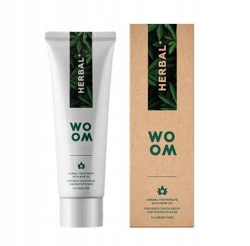 Woom Herbal+ ziołowa pasta do zębów (75 ml)