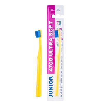 Woom Junior 4700 Ultra Soft Toothbrush szczoteczka do zębów z miękkim włosiem 6+ Years