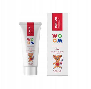 Woom Junior naturalna pasta do zębów dla dzieci 6+ lat Cola (50 ml)