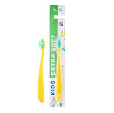 Woom Kids Extra Soft Toothbrush bardzo delikatna szczoteczka do zębów dla dzieci 2-6 Years