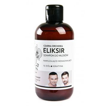 WS Academy Eliksir nawilżająco-wzmacniający szampon do włosów Czarna Orchidea 250ml