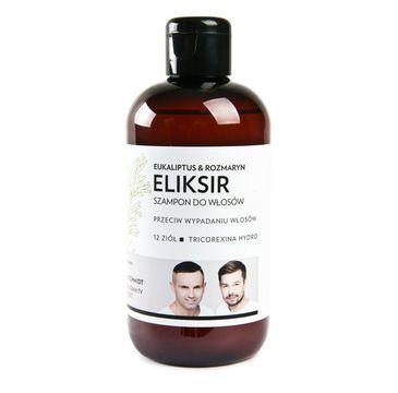 WS Academy Eliksir szampon przeciwko wypadaniu włosów Eukaliptus & Rozmaryn 250ml