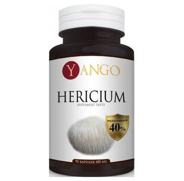 Yango Hericium 400mg suplement diety 90 kapsułek