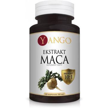 Yango Maca Ekstrakt 530mg suplement diety 100 kapsułek