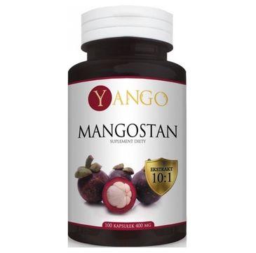 Yango Mangostan 400mg suplement diety 100 kapsułek