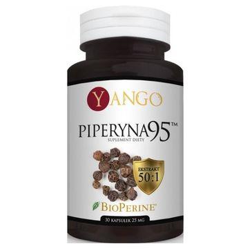 Yango Piperyna 95 25mg suplement diety 30 kapsułek
