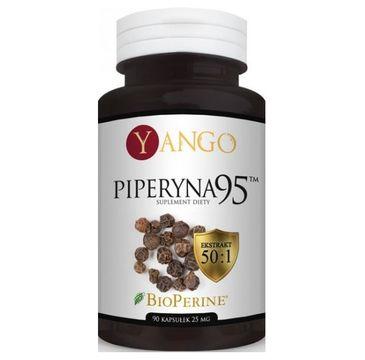 Yango Piperyna 95 25mg suplement diety 90 kapsułek