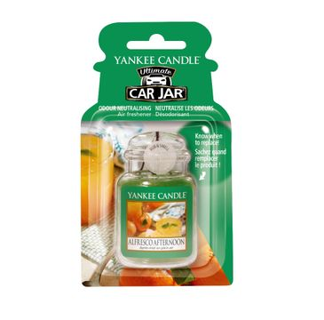Yankee Candle Car Jar Ultimate zapach samochodowy Alfresco Afternoon