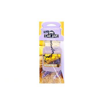 Yankee Candle Car Jar zapach samochodowy Lemon Lavender 1sztuka