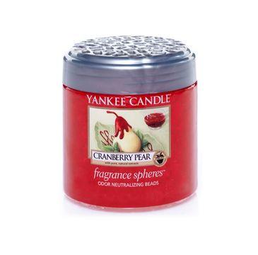 Yankee Candle Fragrance Spheres kuleczki zapachowe Cranberry Pear 170g