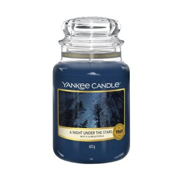 Yankee Candle – Świeca zapachowa duży słój A Night Under The Stars (623 g)