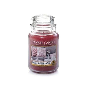 Yankee Candle Świeca zapachowa duży słój Home Sweet Home 623g