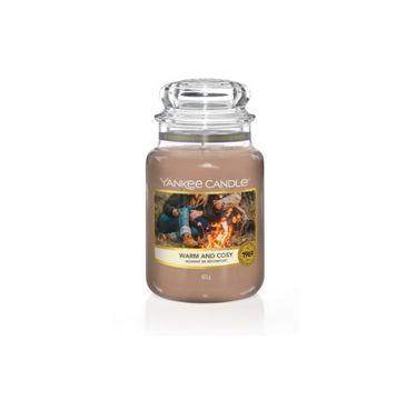 Yankee Candle – Świeca zapachowa duży słój Warm and Cosy (623 g)
