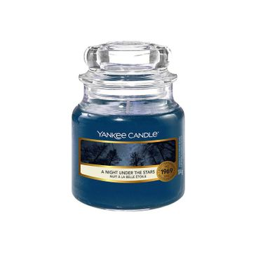 Yankee Candle – Świeca zapachowa mały słój A Night Under The Stars (104 g)