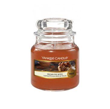 Yankee Candle – Świeca zapachowa mały słój Pecan Pie Bites (104 g)
