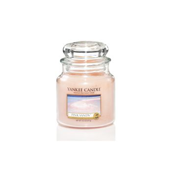 Yankee Candle Świeca zapachowa mały słój Pink Sands™ 104g
