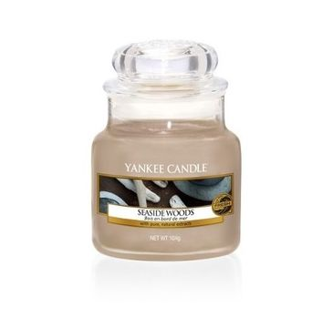 Yankee Candle Świeca zapachowa mały słój Seaside Woods 104g