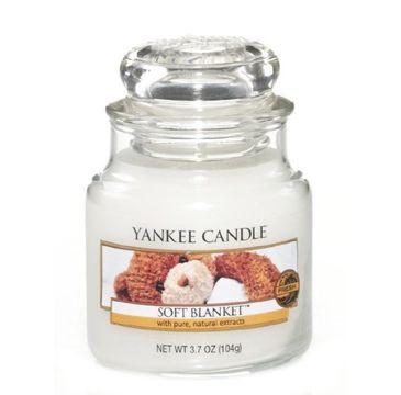 Yankee Candle Świeca zapachowa mały słój Soft Blanket 104g