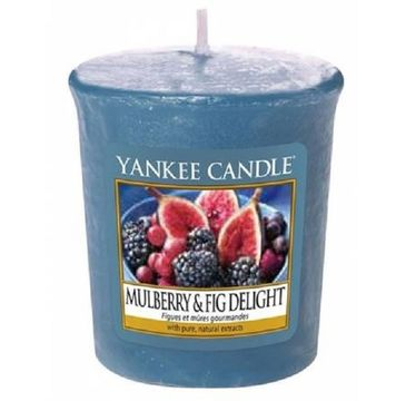 Yankee Candle Świeca zapachowa sampler Mulberry & Fig Delight 49g