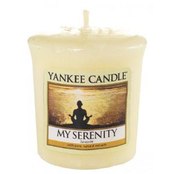 Yankee Candle Świeca zapachowa sampler My Serenity 49g