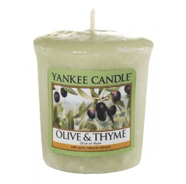 Yankee Candle Świeca zapachowa sampler Olive & Thyme 49g