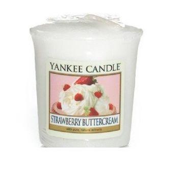 Yankee Candle Świeca zapachowa sampler Strawberry Buttercream 49g