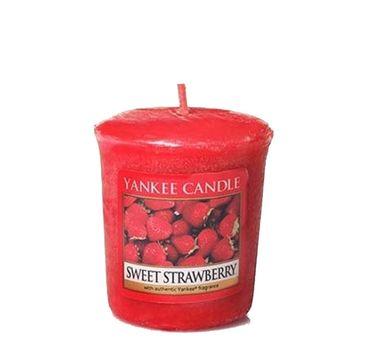 Yankee Candle Świeca zapachowa sampler Sweet Strawberry 49g
