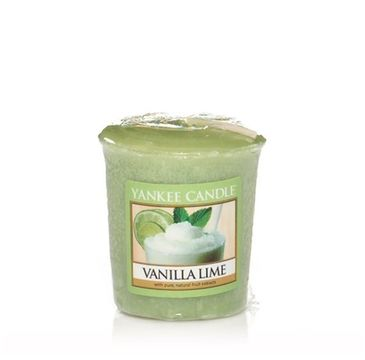 Yankee Candle Świeca zapachowa sampler Vanilla Lime 49g